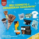 Promo Cornetto Berhadiah Tiket Konser Shawn Mendes, Samsung A30, dll
