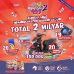 Promo OKKY Mountea Bagi Rejeki 2 Berhadiah Total 2 Milyar