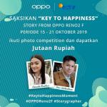 Kuis Key To Happiness Berhadiah Total Jutaan Rupiah dari OPPO