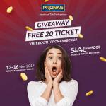 Kuis Review Pronas Berhadiah Total 20 Tiket SIAL Interfood