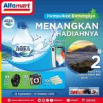 Promo Kumpulkan Bintang Aqua Alfamart Berhadiah Trip ke Gunung Batur