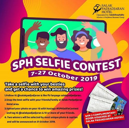 Selfie Contest Berhadiah 2 Voucher Menginap di Salak Padjadjaran Hotel