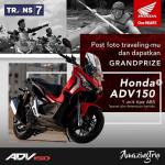 Kontes Foto Amazing Trip Trans7 Berhadiah Motor Honda ADV150