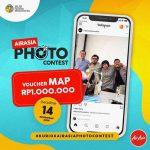 AirAsia Photo Contest Berhadiah Voucher MAP Rp 1 Juta
