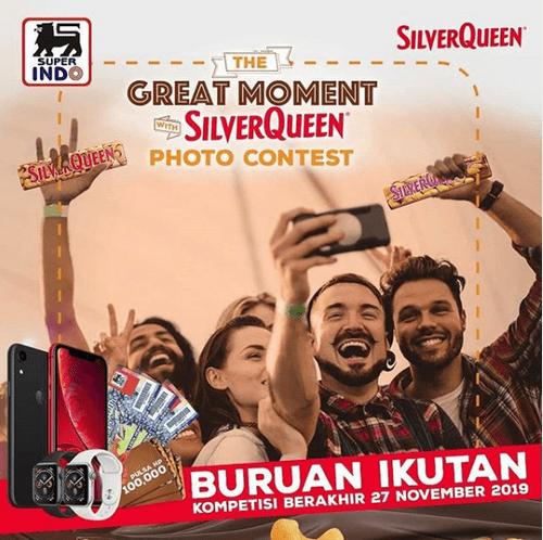 Kontes Foto Great Moment Silverqueen Berhadiah 2 Iphone XR Gratis