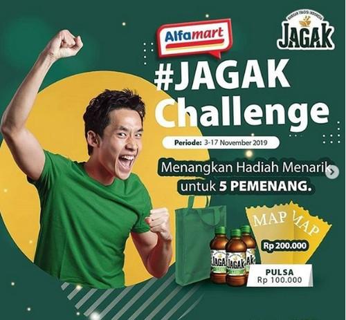JAGAK Challenge Berhadiah Voucher MAP, Pulsa & Produk