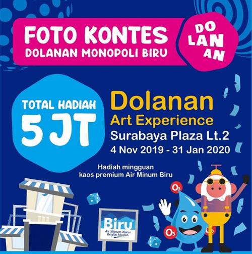 Kontes Foto Dolanan Monopoli Biru Berhadiah Total Uang Rp 5 Juta