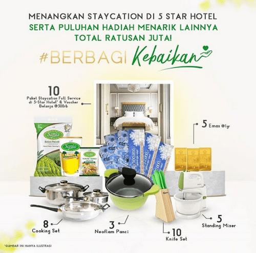 Kontes Foto Hidangan Berhadiah 10 Paket Staycation di Hotel Bintang 5