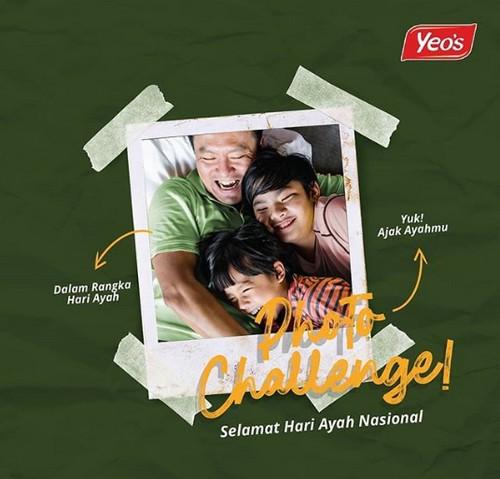 Photo Challenge Hari Ayah Berhadiah Saldo Go-Pay / OVO dari Yeo's