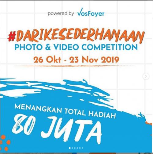 Ikuti Kompetisi #DariKesederhanaan, Menangkan Total Hadiah 80 Juta