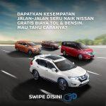 Jalan-Jalan Naik Mobil Nissan  Terbaru Gratis Tol dan Bensin