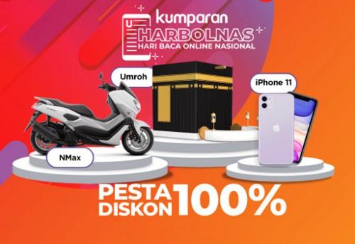 Baca Artikel di Kumparan Berhadiah Umroh, iPhone 11 dan Yamaha NMax