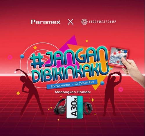 Kontes Video Jangan Dibikin Kaku Berhadiah SAMSUNG A30S & Hadiah lain