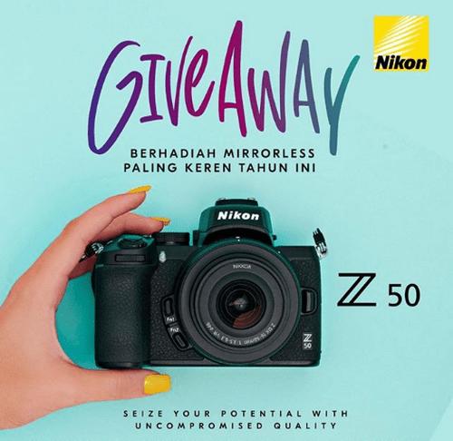 Kuis Like Komentar Berhadiah Nikon Z 50 16-50mm Kit Gratis