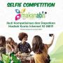 Makanabis Selfie Contest Berhadiah Kuota Internet 10GB