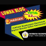 Lomba Blog Untan 2020 Berhadiah 12 Juta Rupiah