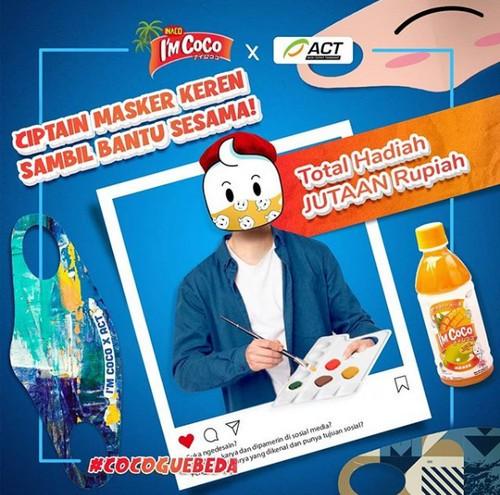 Lomba Desain Masker I'm Coco x ACT Total Hadiah 6 Juta Rupiah