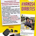 #Hands4Diabetes Tropicana Slim dan Sobat Diabet 2020