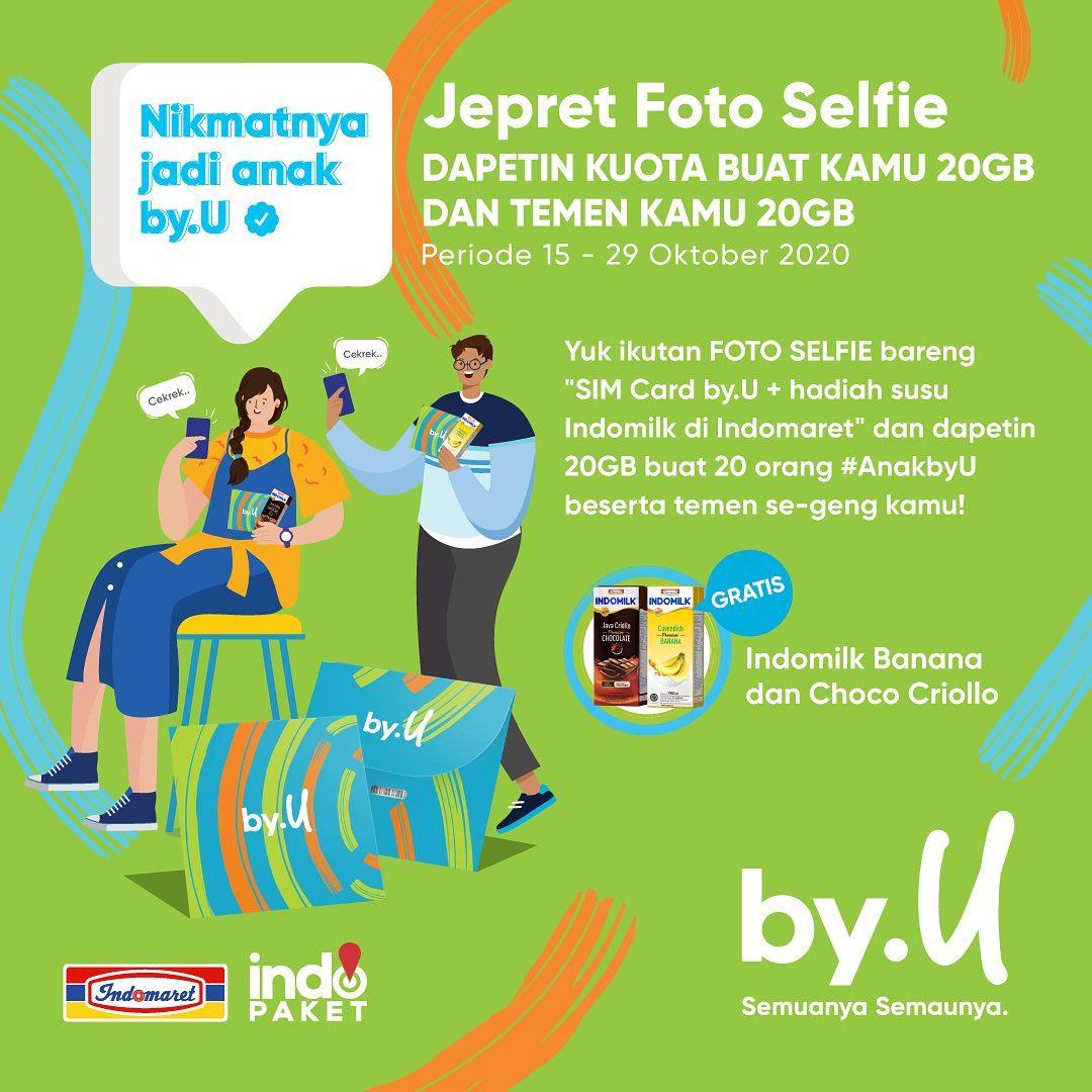 Jepret Foto Selfie Nikmatnya Jadi Anak by.U 2020