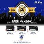 Kontes Video dari Fans untuk 20 Tahun Epson Indonesia