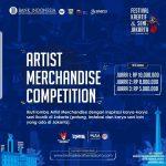 Lomba Artist Merchandise Festival Kreatif dan Seni Jakarta 2020