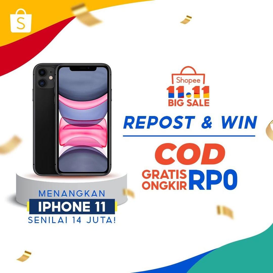 Shopee 11.11 Repost & Win 2020