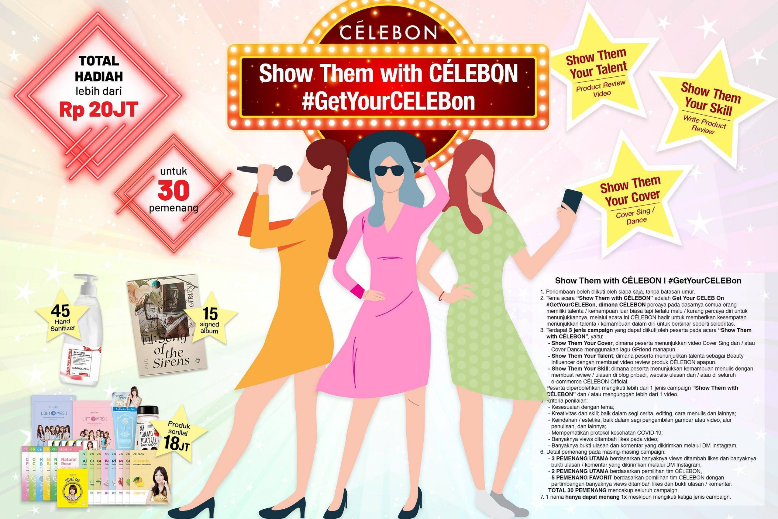 Show Them with CÉLEBON #GetYourCELEBon