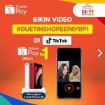 Duetin ShopeePay Rp1 TikTok 2020