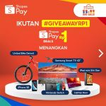 Giveaway Rp1 Instagram ShopeePay Indonesia November 2020