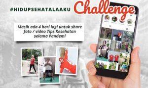Hidup Sehat Ala Aku Challenge BRAND'S 2020