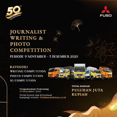 Journalist Writing & Photo Competition Mitsubishi Fuso Indonesia 2020