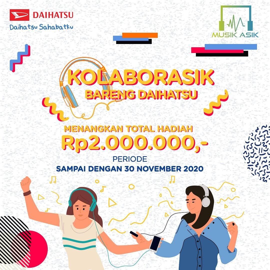 Kolaborasik Bareng Daihatsu November 2020