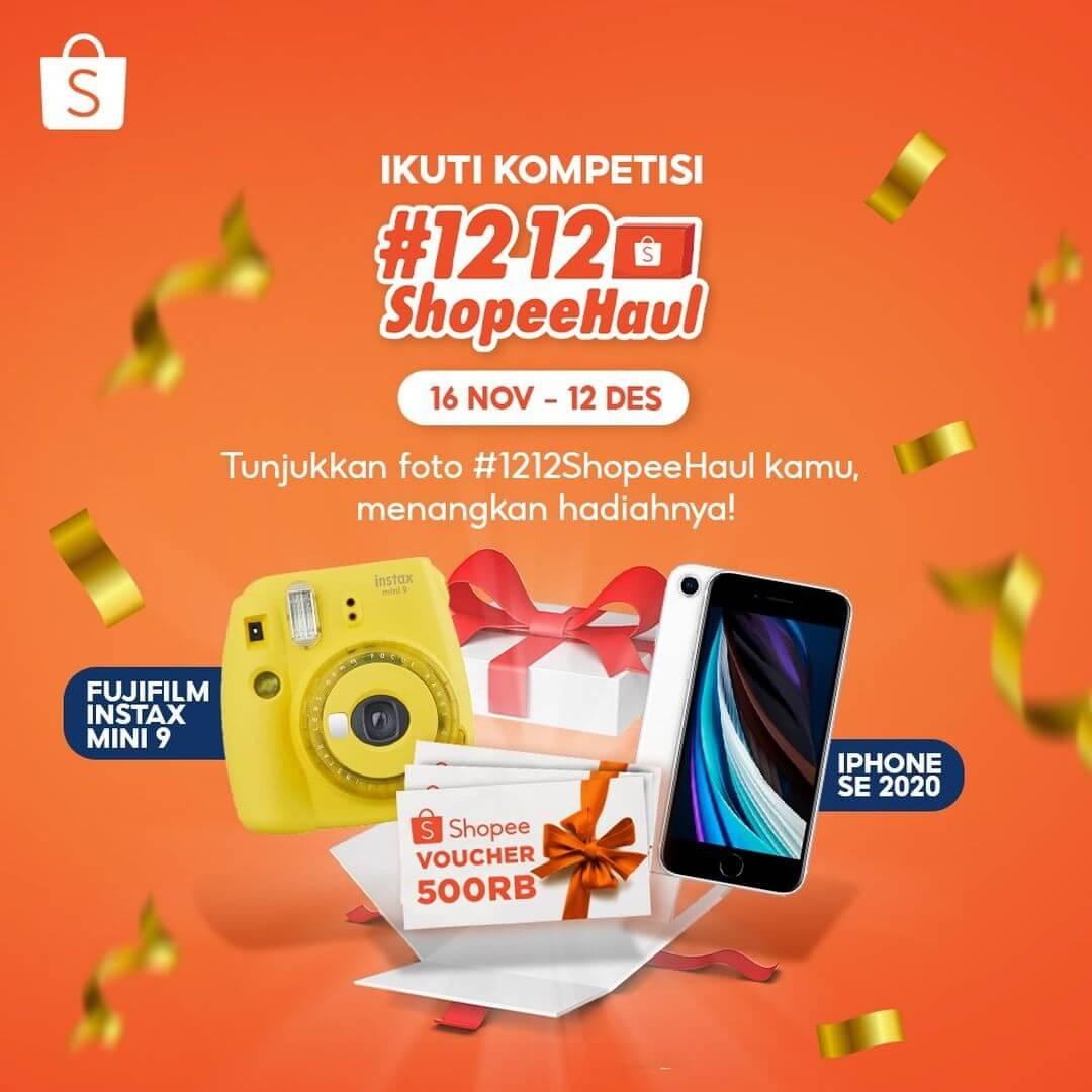 Kompetisi 12.12 Shopee Haul 2020