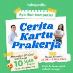 Kompetisi Cerita Kartu Prakerja Tokopedia 2020