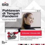 Kompetisi Video Pendek Pahlawan Pandemi SIG 2020