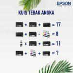 Kuis Tebak Angka Epson Indonesia November 2020