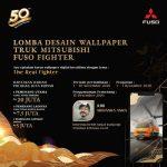 Lomba Desain Wallpaper Truk Mitsubishi Fuso Fighter 2020