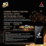 Lomba Video TikTok Goyang Asyik Mitsubishi Fuso 2020