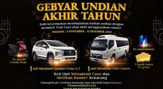 Lucky Draw Mitsubishi Fuso Indonesia 2020