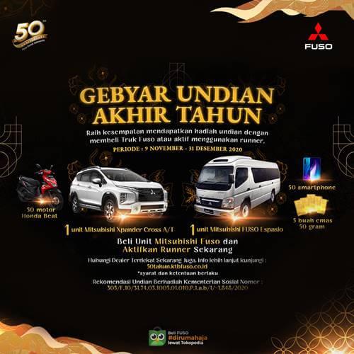 Lucky Draw Mitsubishi Fuso Indonesia 2020