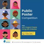 Public Poster Competition Sobat Diabet 2020