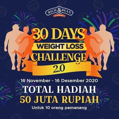 Richbean Coffee 30 Days Weight Loss Challenge 2.0