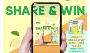 Share & Win Komix Herbal 2020