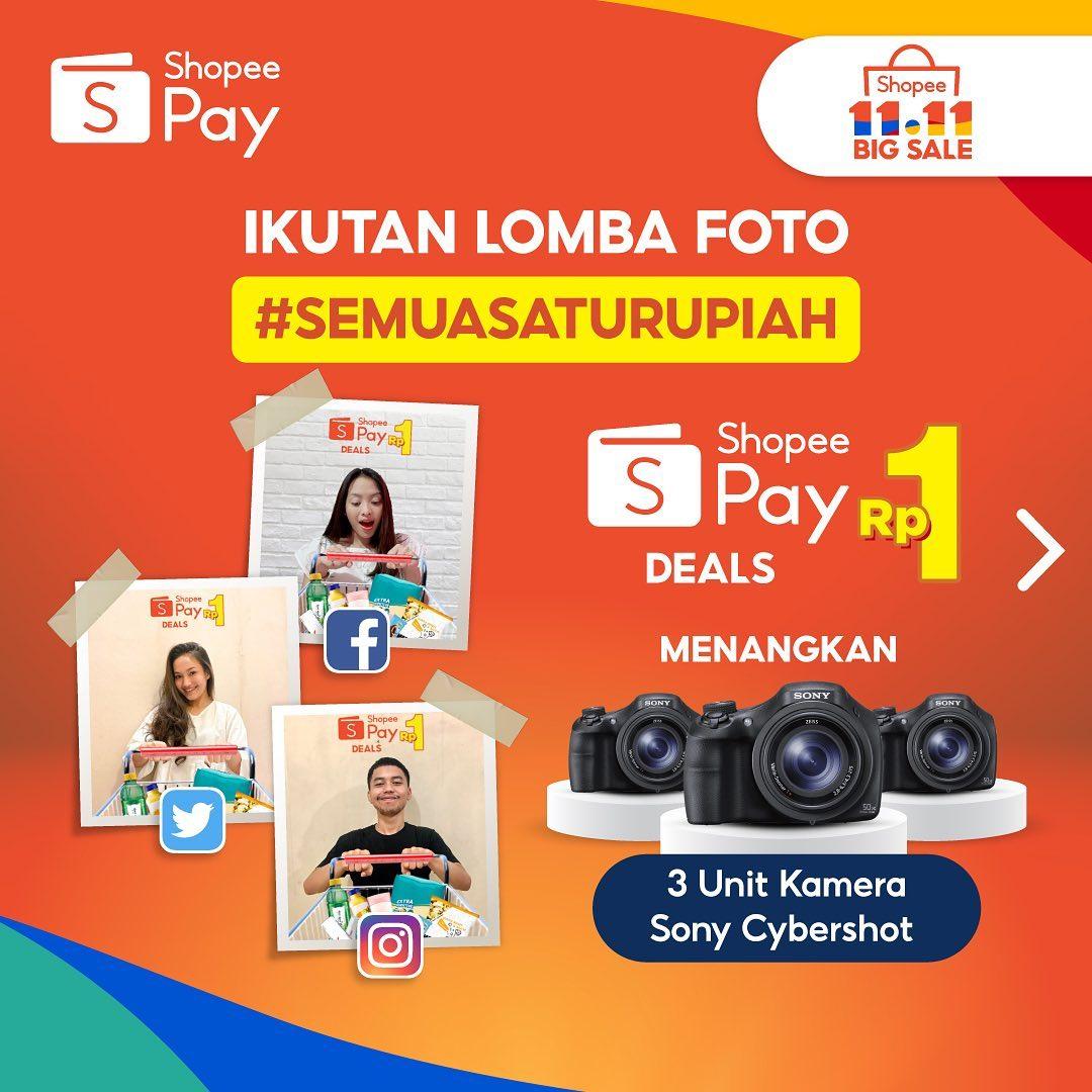 ShopeePay Rp1 Photo Challenge 2020