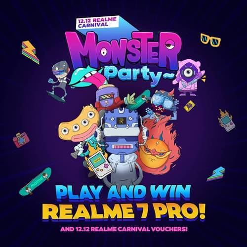 12.12 Realme Carnival Monster Party 2020