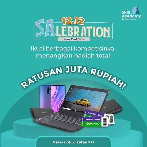 12.12 Salebration Year End Sale Skill Academy 2020