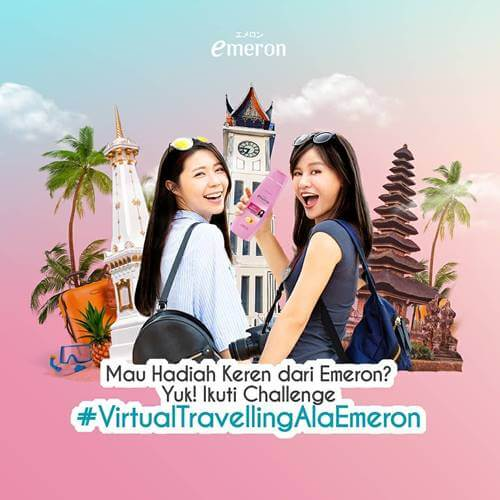 Challenge Virtual Travelling Ala Emeron 2020
