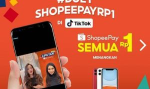 Duet ShopeePay Rp1 di TikTok 12.12 Birthday Sale 2020