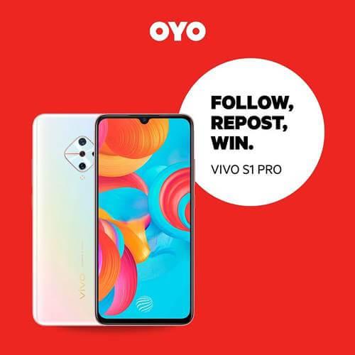 Follow, Repost, Win OYO Desember 2020