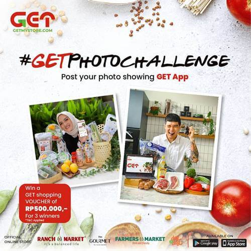GET Photo Challenge GetMyStore 2020